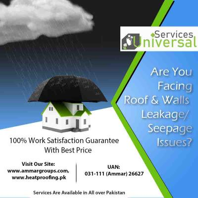 Roof Water Leakage and Seepage Solutions In Karach