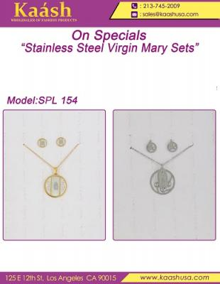 Stainless Steel Virgin  Mary Sets
