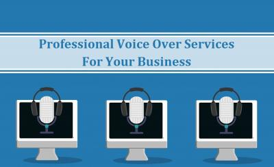 Certified Voice Over Services For Your Business