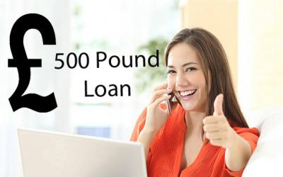 500 Pound Loan For Bad Credit To Satisfy Petty Cas
