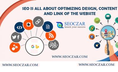 What SEO Is All About? Design, Content, & Link!