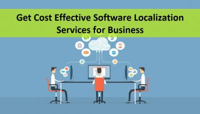 Get Cost Effective Software Localization Services