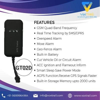 GPS tracker GT02D in Dwarka, Delhi India