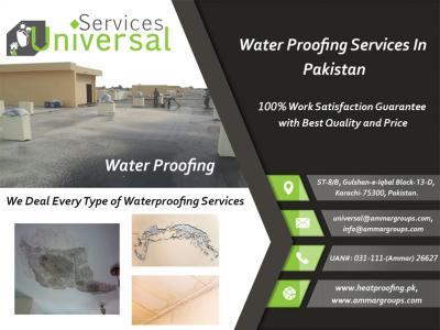 Water Proofing Service In Pakistan, Roof Leakage/