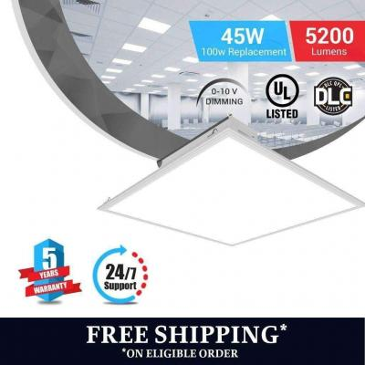 Brightest LED Panel 2x2 45W 5000K Dimmable