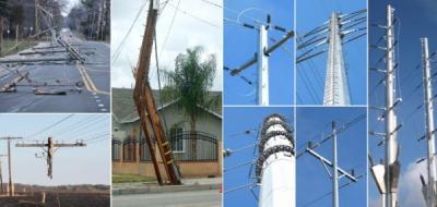 Electrical Distribution Poles   Electric Pole