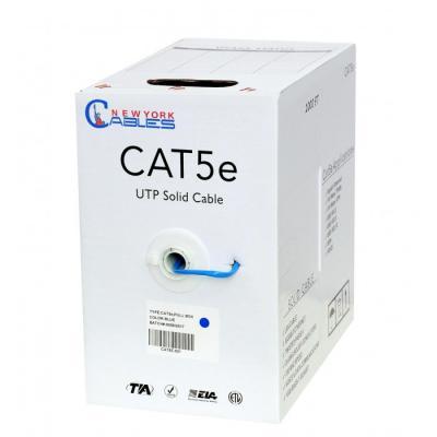 Cat5e Network Cable UTP, PVC |  350mhz 1000ft Non-