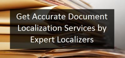Get Accurate Document Localization Services Expert