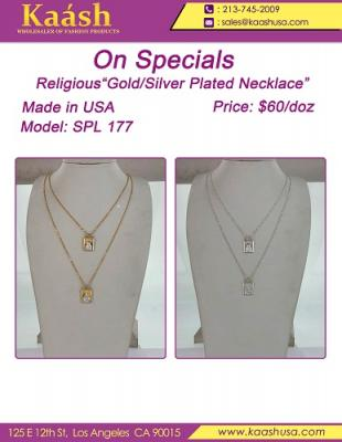 Religious Gold/Silver Plated Necklace