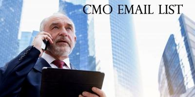 Try the new Chief Marketing Officer Mailing List
