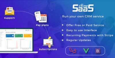 LCRM SAAS Web Template