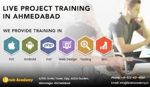 php project training in ahmedabad, php project