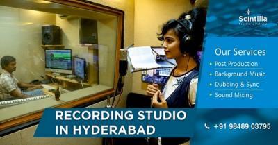 Dubbing Services In Hyderabad|Camera On Rental
