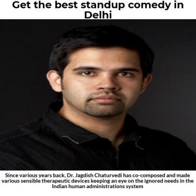 Get the best standup comedy in delhi