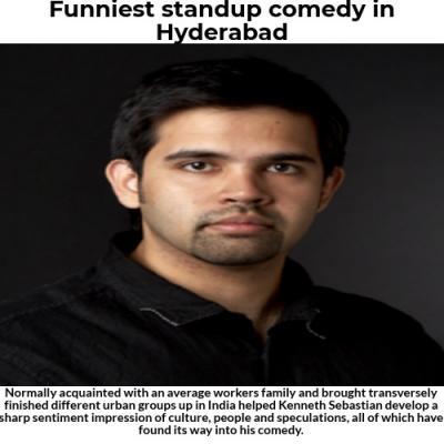 Funniest standup comedy in Hyderabad