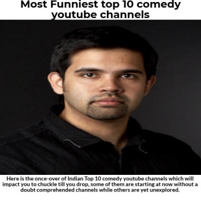 Most Funniest top 10 comedy youtube channels