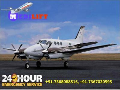 Most Economical Shifting by Medilift Air Ambulance