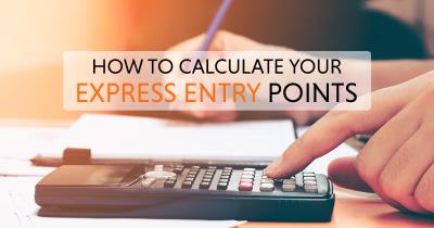 Canada express entry points calculator