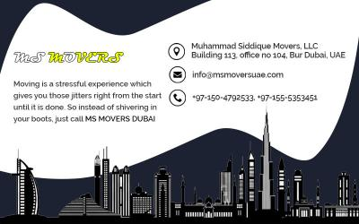 Movers in Dubai- MS Movers