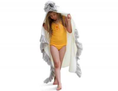 Born To Unicorn - Blanket for Girls - Hooded, Lite