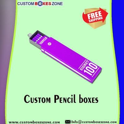 Printed Logo Pencil Boxes