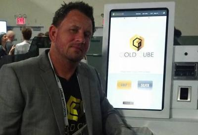 The Gold Cube ATM | Collaboration with Law Enforce