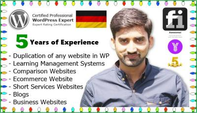 I Will Design Any Website In Wordpress