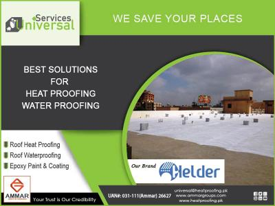 Roof Waterproofing in Karachi, Roof waterproofing