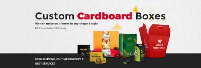Get Custom Cardboard Packaging Boxes
