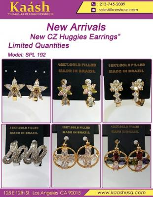 """New CZ Dangling Earrings""  Limited Quantities"
