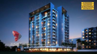 3D Apartment Rendering & Walkthrough Services by 3