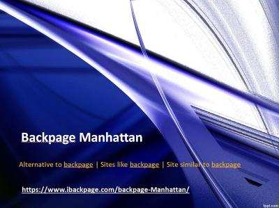 Backpage Manhattan