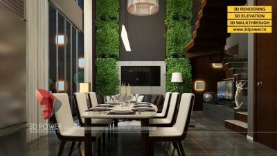 3D Interior rendering & architectural walkthrough