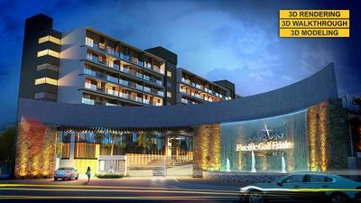 3D Township Rendering & Walkthroughs services by 3
