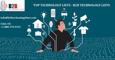 Top Technology Lists - B2B Technology Lists