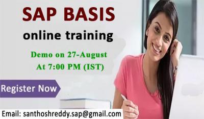 SAP BASIS online training Attend free Demo.