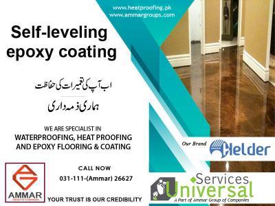 Epoxy coating for Floor Services in Pakistan