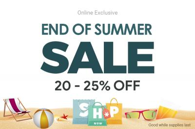 End of Summer Sale: Get 20% - 25% Off on Revo America