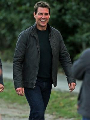 Tom Cruise Never Go Back Leather Jacket
