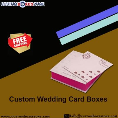Cheap Custom Wedding Card Boxes