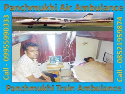 Panchmukhi Life Air Ambulance Service in Delhi