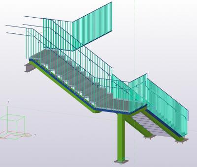 Steel Staircase and Handrailing Services - Silicon