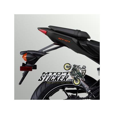 MT-07 Under seat fairing sticker (10)