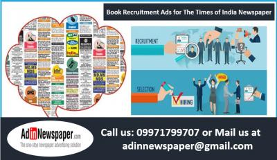 Times of India Times Ascent Display Advertisement