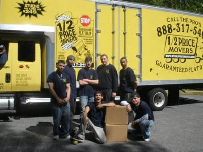 Affordable Movers NYC - 1/2 Price Movers