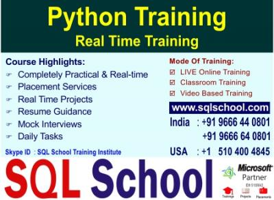 Python  Best Project Oriented Online Training