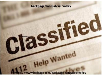 backpage-San Gabriel Valley| backpage San Gabriel