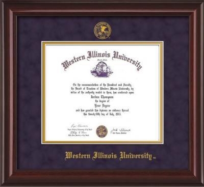 Western Illinois University Diploma Frames