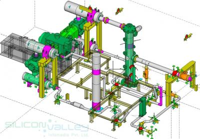 Mechanical Piping Shop Drawing Services - Silicon