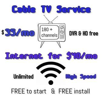 Best & Cheaper TV Service - $35 a Month, Sign Up Today & Get Huge Offers!!!